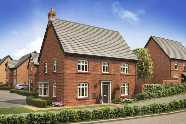 "Thumbnail Detached house for sale in ""Eaton"" at Tarporley Business Centre, Nantwich Road, Tarporley"