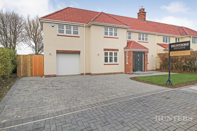 Thumbnail Semi-detached house for sale in The Crescent, Cleadon, Sunderland