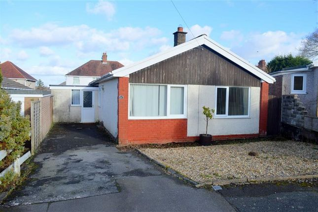 Thumbnail Detached bungalow for sale in Parkwood, Gowerton, Swansea