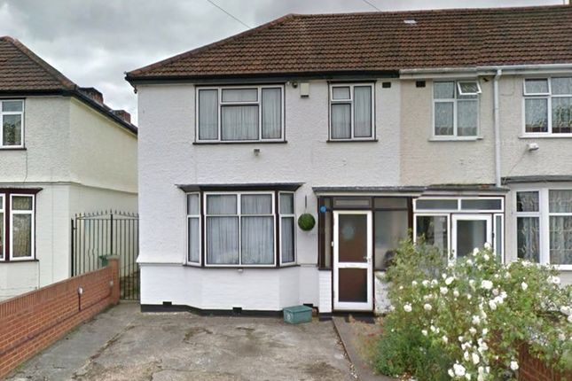 Thumbnail End terrace house to rent in Raleigh Road, Southall