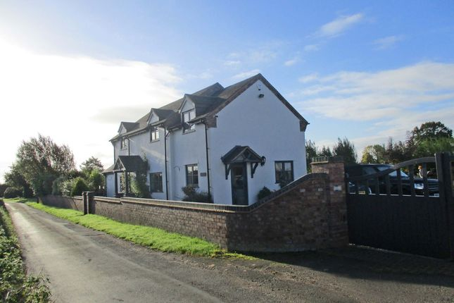 Thumbnail Detached house for sale in Watery Lane, Haughton, Stafford