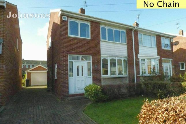 Thumbnail Semi-detached house for sale in Darrington Drive, Warmsworth, Doncaster.