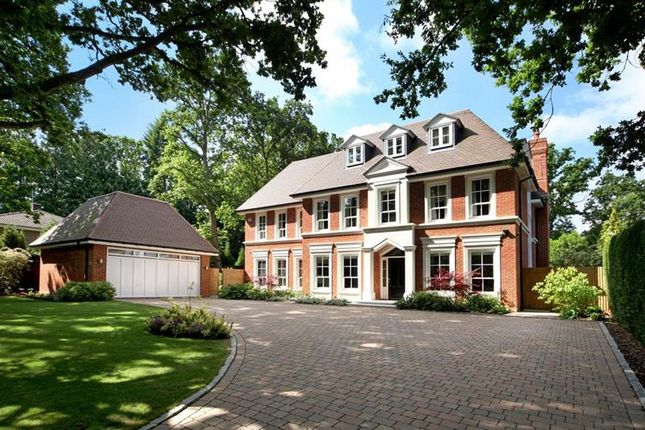 Thumbnail Detached house to rent in Richmond Wood, Sunningdale
