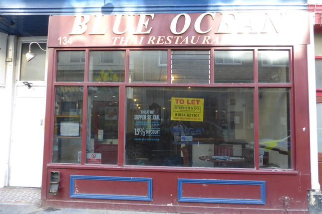 Thumbnail Restaurant/cafe to let in High Street, Weston-Super-Mare