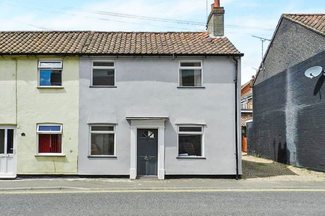 Thumbnail Semi-detached house for sale in Queens Road, Fakenham