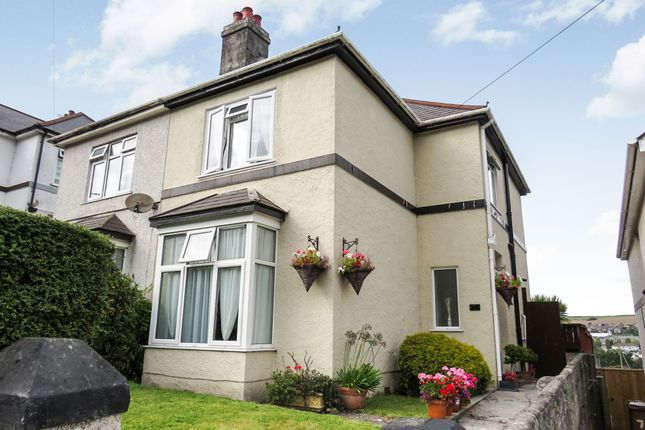 Thumbnail Semi-detached house for sale in Merafield Road, Plympton, Plymouth