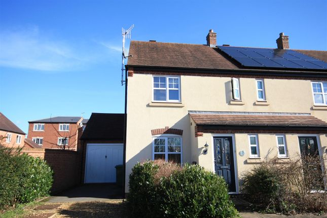 Thumbnail End terrace house for sale in Christie Way, Stratford-Upon-Avon
