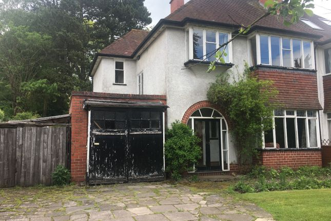 Thumbnail Semi-detached house for sale in Somerville Road, Sutton Coldfield