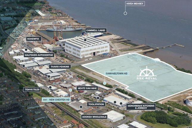 Thumbnail Industrial for sale in Ark Royal Business Park, Campbelltown Rd, Birkenhead