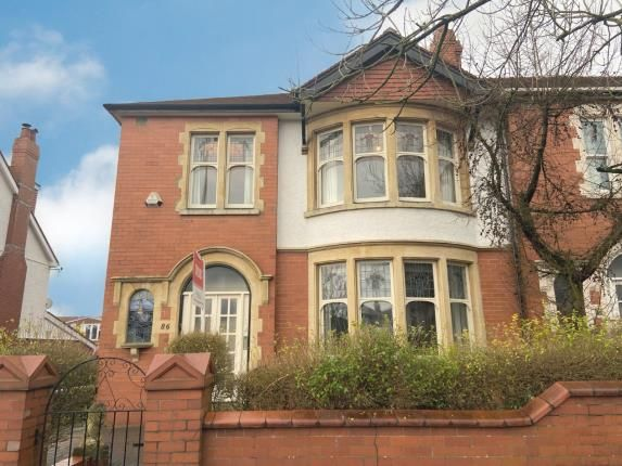 Thumbnail End terrace house for sale in Colchester Avenue, Penylan, Cardiff, Caerdydd