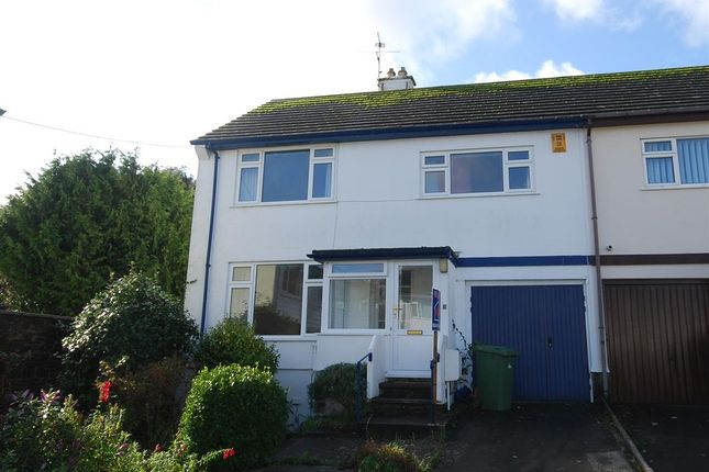 Thumbnail Semi-detached house for sale in Trevale, Tredarvah, Penzance