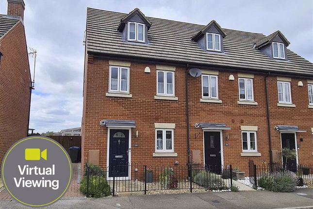 Thumbnail End terrace house for sale in Southend Lane, Northall, Dunstable
