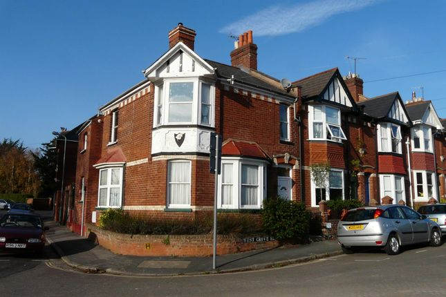 Thumbnail Flat to rent in West Grove Road, St. Leonards, Exeter
