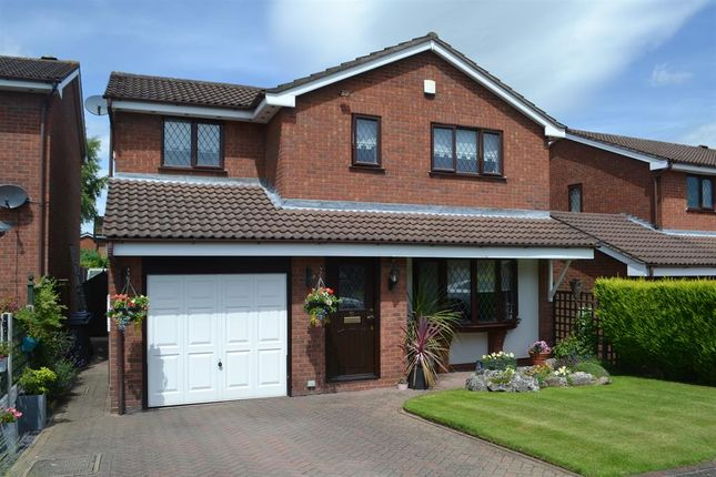 Thumbnail Detached house for sale in Mawgan Drive, Lichfield