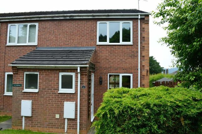 Thumbnail End terrace house to rent in Broad Walk, Darley Dale, Matlock