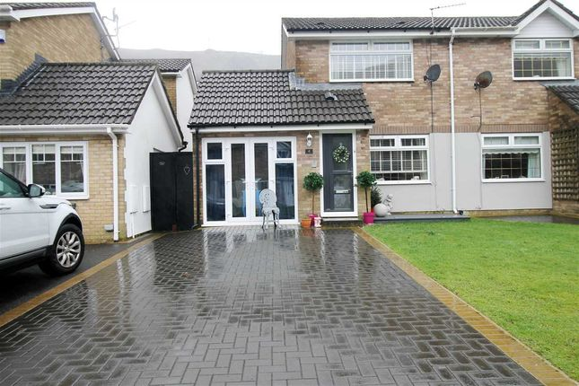 Thumbnail Semi-detached house for sale in Grove House Court, Pontygwaith, Ferndale