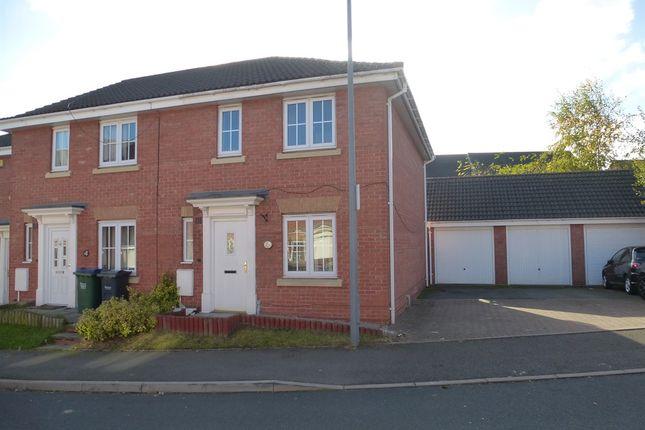 Thumbnail End terrace house for sale in Monkgate Drive, West Bromwich