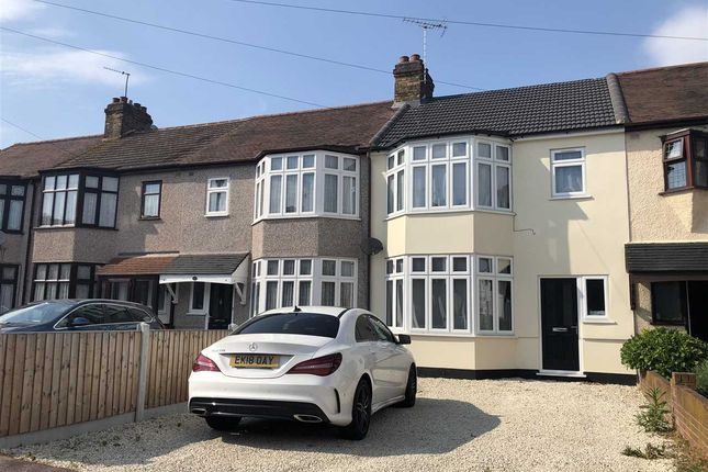 Thumbnail Terraced house to rent in Gorseway, Rush Green, Romford