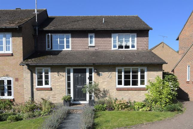 4 bed end terrace house for sale in Kingfisher Close, Wheathampstead, St.Albans AL4