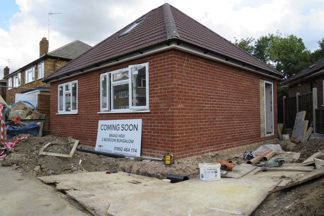 Thumbnail Detached bungalow for sale in Dudley Avenue, Cheshunt, Waltham Cross
