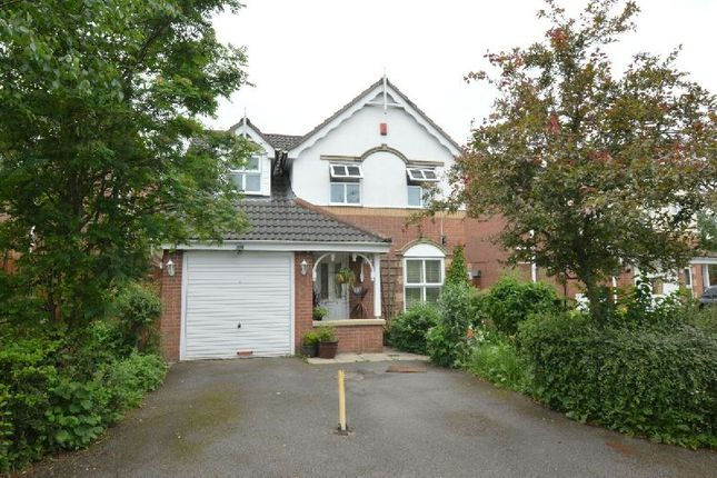 Thumbnail Detached house for sale in Collins Close, Thorpe Astley, Leicester