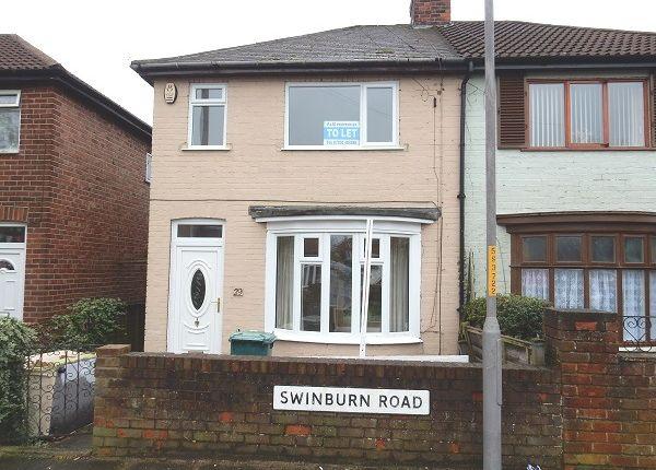 Thumbnail Semi-detached house to rent in Swinburn Road, Norton, Stockton On Tees
