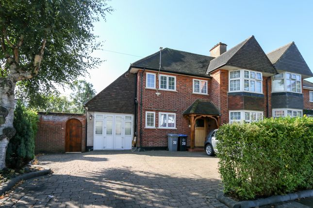 Thumbnail Semi-detached house for sale in Crawford Avenue, Wembley