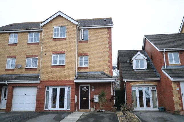 Thumbnail Town house for sale in Llwyn David, Barry Waterfront, Barry