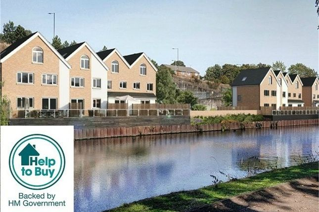 Thumbnail Town house for sale in Scholeys Wharf, Leach Lane, Mexborough, Rotherham, South Yorkshire