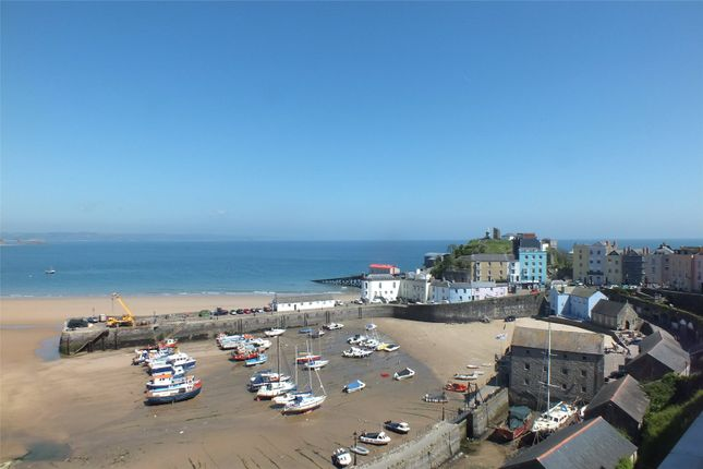 Thumbnail Flat for sale in Flat 3, Newbridge House, Crackwell Street, Tenby