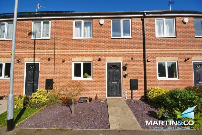 Thumbnail Terraced house to rent in Ivywood Close, Lincoln