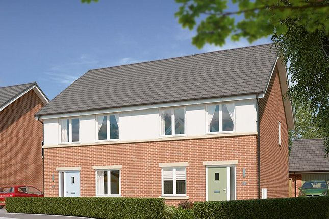 "Thumbnail Semi-detached house for sale in ""The Kilmington"" at High Gill Road, Nunthorpe, Middlesbrough"