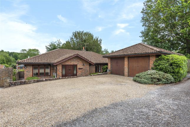Thumbnail Bungalow for sale in Station Hill, Itchen Abbas, Winchester, Hampshire