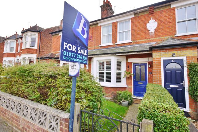Thumbnail Terraced house for sale in Park Road, Brentwood, Essex