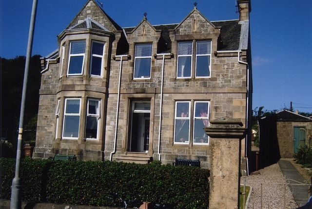 Thumbnail Flat for sale in West Bay Road (Upper Floor Villa), Millport, Isle Of Cumbrae