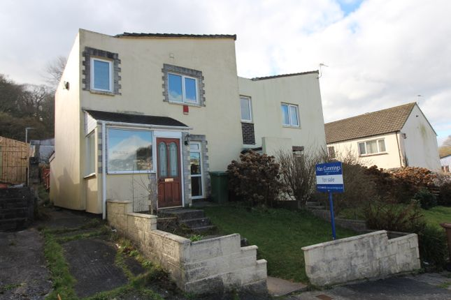 Thumbnail Semi-detached house for sale in Mersey Close, Plymouth