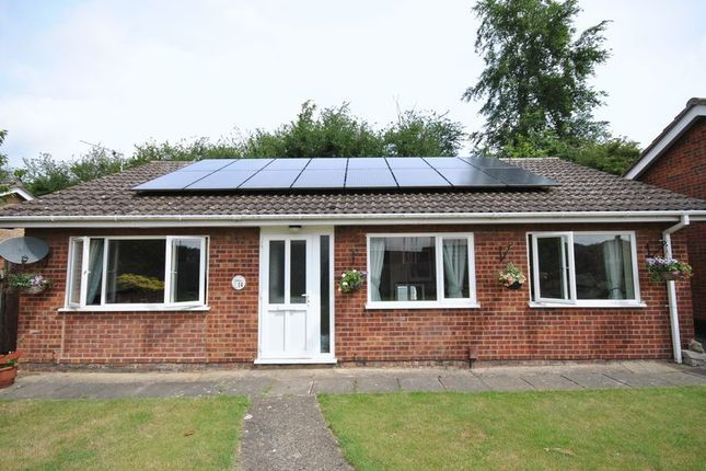 Thumbnail Bungalow for sale in Chartwell Court, Sprowston, Norwich