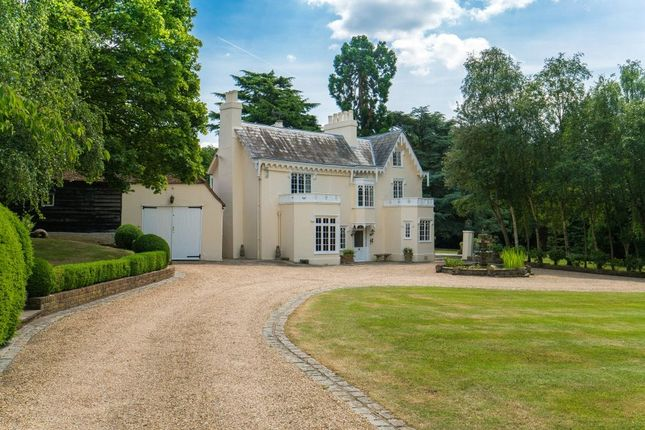 Thumbnail Detached house for sale in Halstead Hill, Goffs Oak