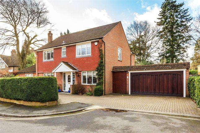 Thumbnail Detached house for sale in Palmerston Close, Horsell, Woking