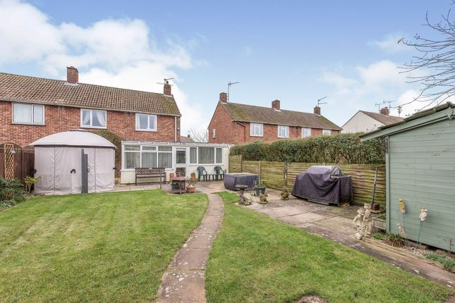 Thumbnail Semi-detached house for sale in Trinity Avenue, Mildenhall, Bury St. Edmunds