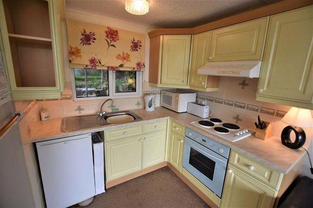 Kitchen of Chalet 34, Woodlands, Bryncrug, Gwynedd LL36