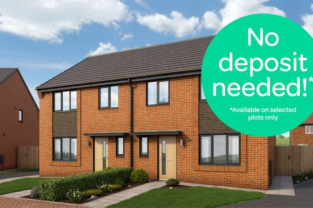 Thumbnail Semi-detached house to rent in Old Spot Way, Winsford