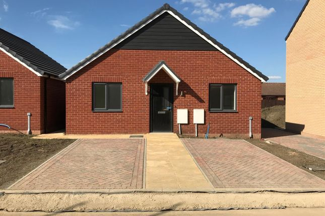 Thumbnail Detached bungalow for sale in Plot 18 Spire View, Whittlesey, Peterborough
