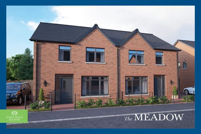 Thumbnail Semi-detached house for sale in Fortfield Manor, Shore Road, Greenisland