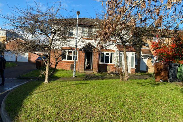 Thumbnail End terrace house to rent in Siskin Close, Borehamwood