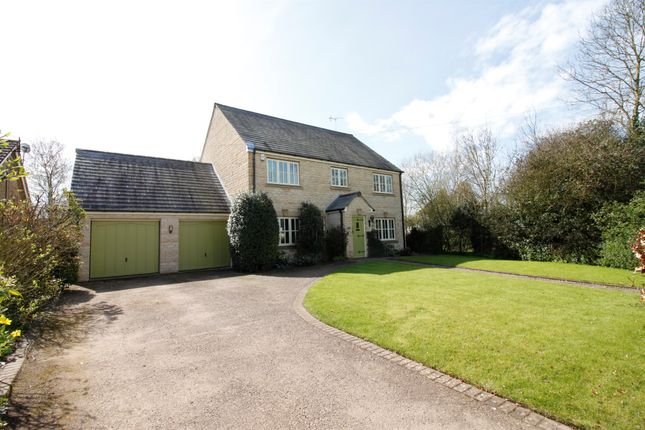 Thumbnail Detached house for sale in Big Green, Warmington, Peterborough