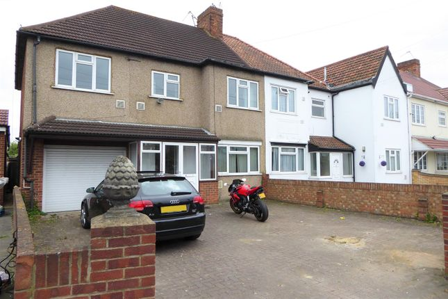 Thumbnail Semi-detached house to rent in Hatch Lane, Harmondsworth, West Drayton