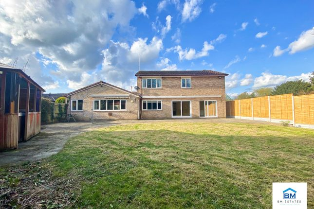 Thumbnail Detached house for sale in Uppingham Close, Leicester