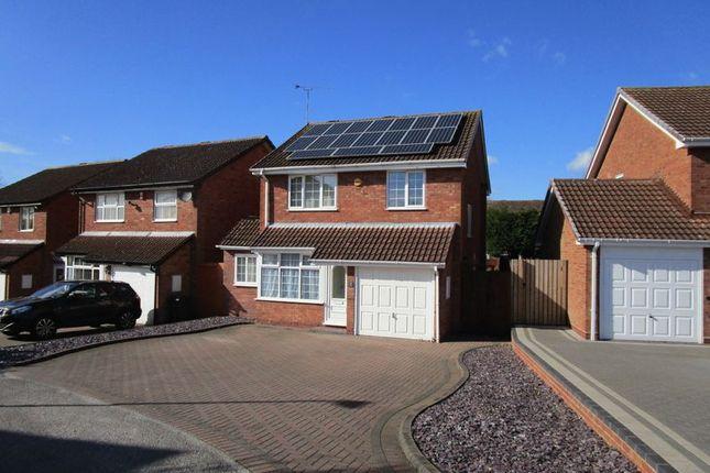 Thumbnail Detached house to rent in Deerham Close, Erdington, Birmingham