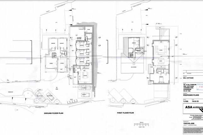 Plans 2 of Coombe End, Kingsand, Torpoint PL10